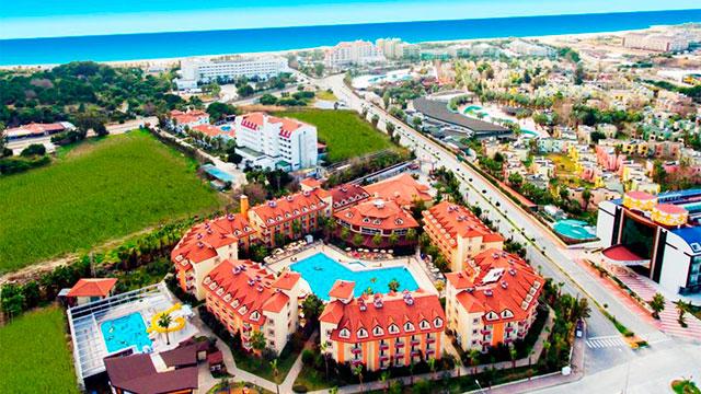 Орфеус Парк Отель 4* Турция (Сиде)