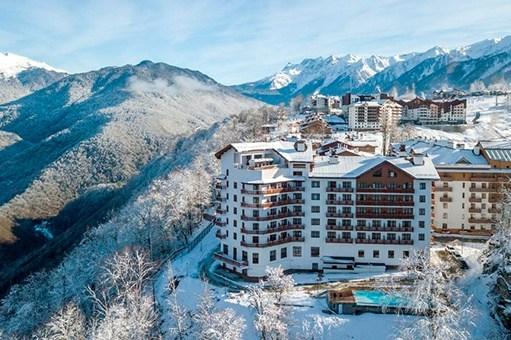 Отели и гостиницы Красной Поляны с бассейном