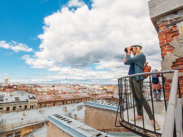 Экскурсия: Безопасная прогулка по петербургской крыше