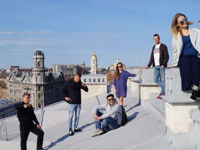 Экскурсия: От крыши к крыше в центре Петербурга