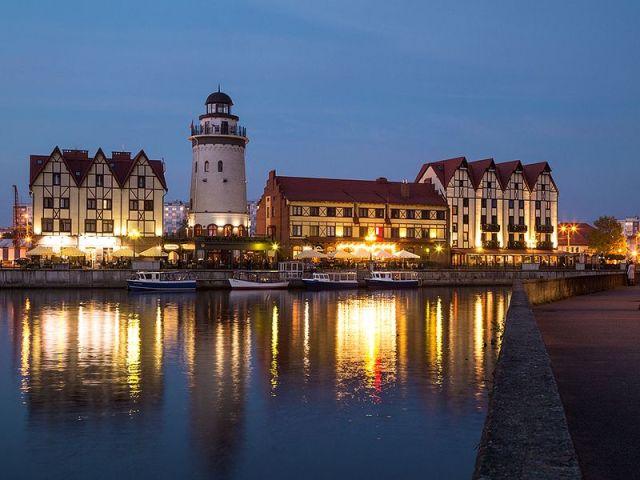 Вечерняя экскурсия по Калининграду с дегустацией прусского напитка
