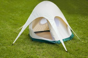 8. Glamping starts with the tent, and the new Lotus Pearl is the coolest in the campsite. The new two-person version of the Lotus Belle range weighs 8.5kg, packs into a little carry bag, and is breathable and waterproof, not to mention achingly chic. $450, lotusbelle.com.au