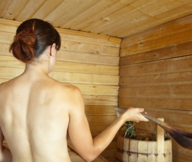 Any Chance To Get Naked In A Sauna Should Be Jumped At