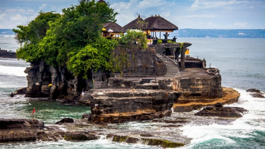 Bali offers incredible, jaw-dropping temples, including the famous Pura Besakih, Tanah Lot (pictured) and Uluwatu. For ...