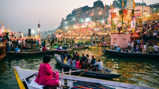 Varanasi is a city in the northern Indian state of Uttar Pradesh.