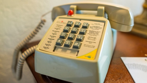 Hotels have traditionally charged exorbitant prices for the privilege of using a landline.
