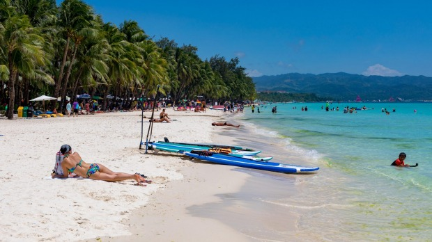 boracay philippines reopens to