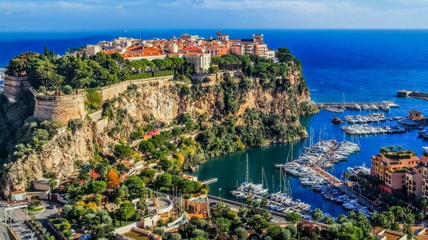 Monaco's stunning landscape is priceless.