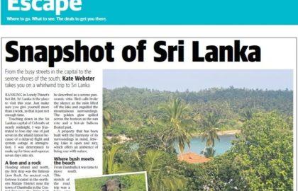 Sri Lanka Article
