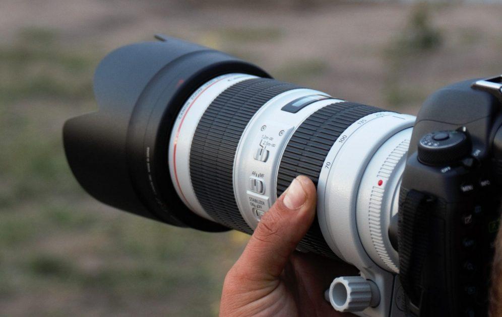 Canon 70-200mm lens