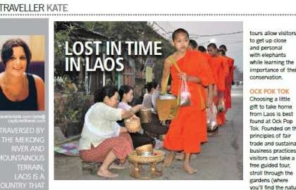 Travellerkate Laos Article
