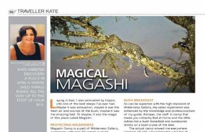 TravellerKate Magashi