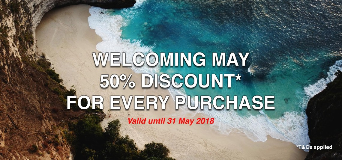 Welcoming May Promo - Mobile
