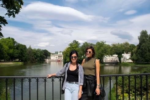 Palazzo sull'acqua Parco Lazienki