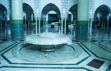 hammam moschea hassan II