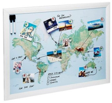 mappa magnetica idea regali
