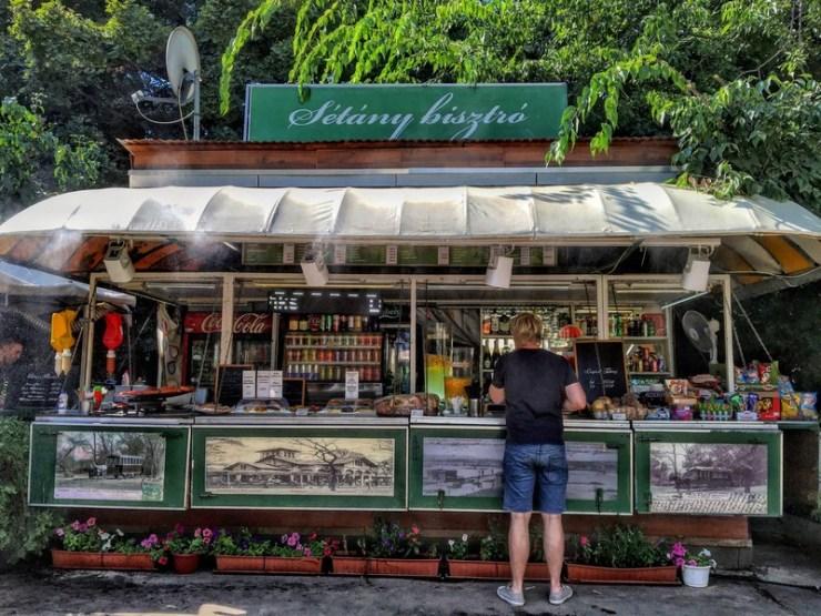 Isola margherita street food