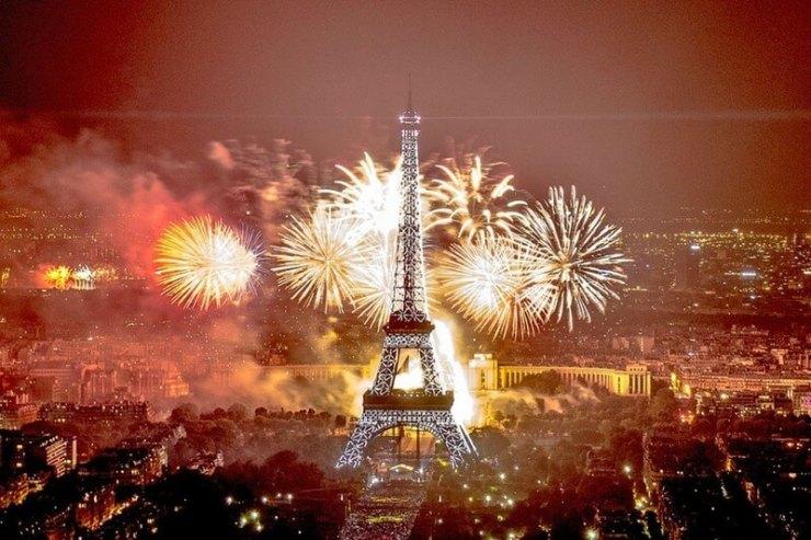 Capodanno 2017 in Europa - Parigi