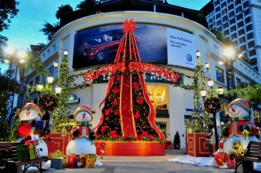 Natale a Singapore 2