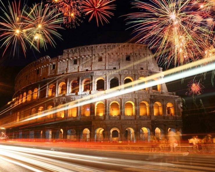 Capodanno 2017 in Europa e nel mondo - Roma