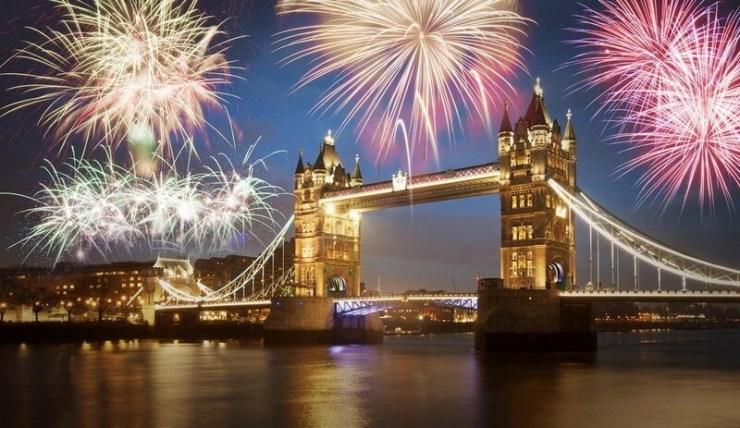 Capodanno 2017 in Europa e nel mondo - Londra