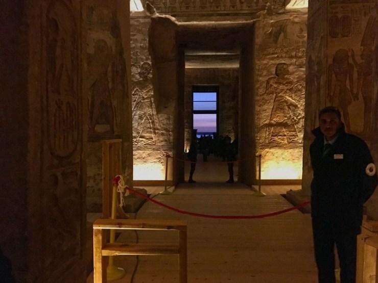 Miracolo del Sole Abu Simbel
