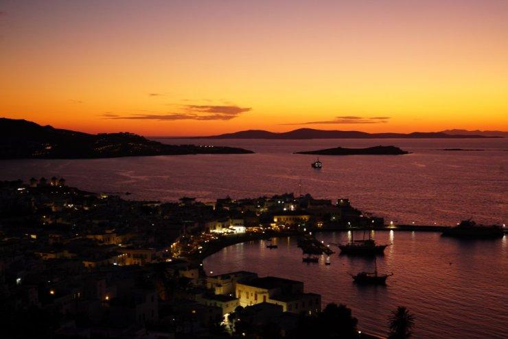 Dove vedere il Tramonto a Mykonos