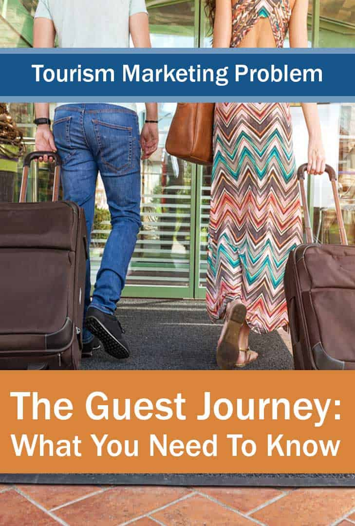 The Guest Journey - Image showing your guests arriving (but this journey means their buying journey..