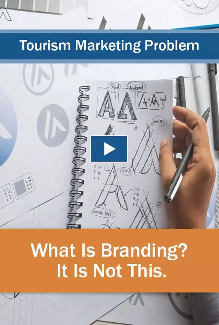 A common tourism marketing problem explained: What is Branding