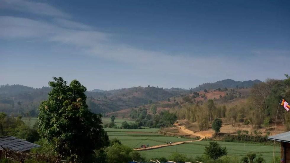 Village of Tongla, Myanmar
