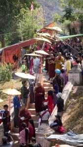 Ordination ceremony for men entering full monkhood