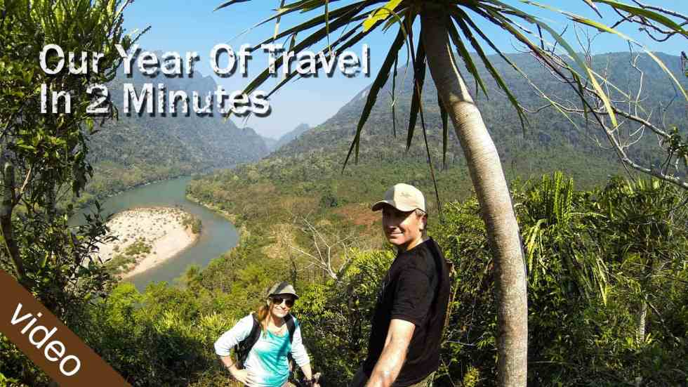 Our Year Of Travel In 2 Minutes