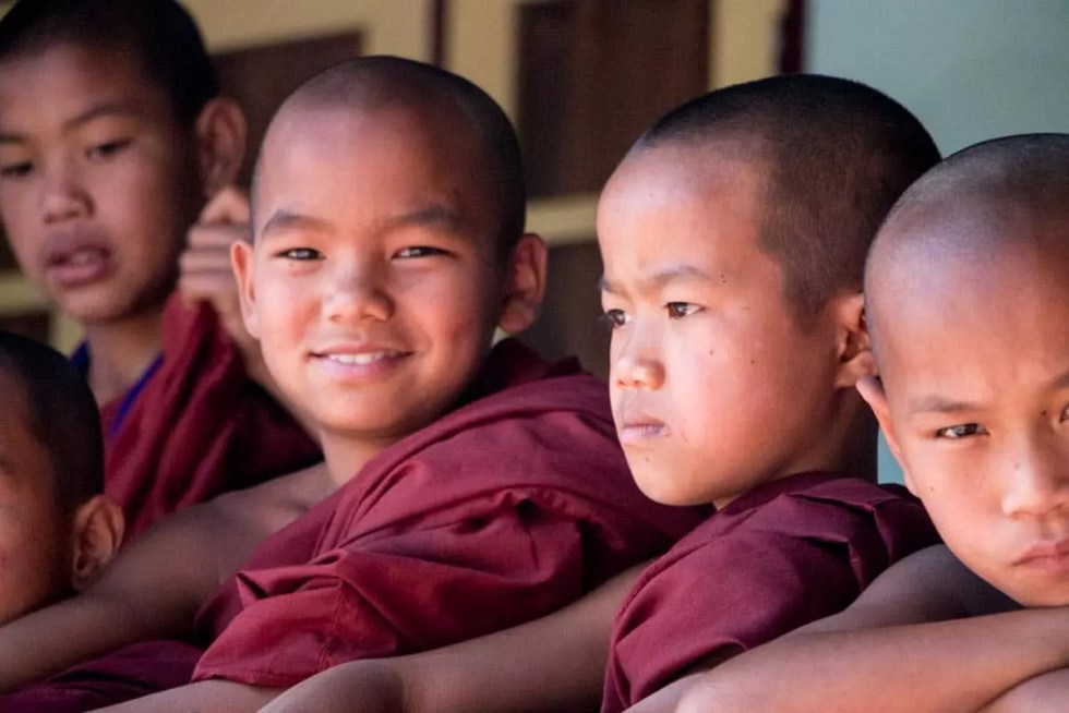 Myanmar Monks