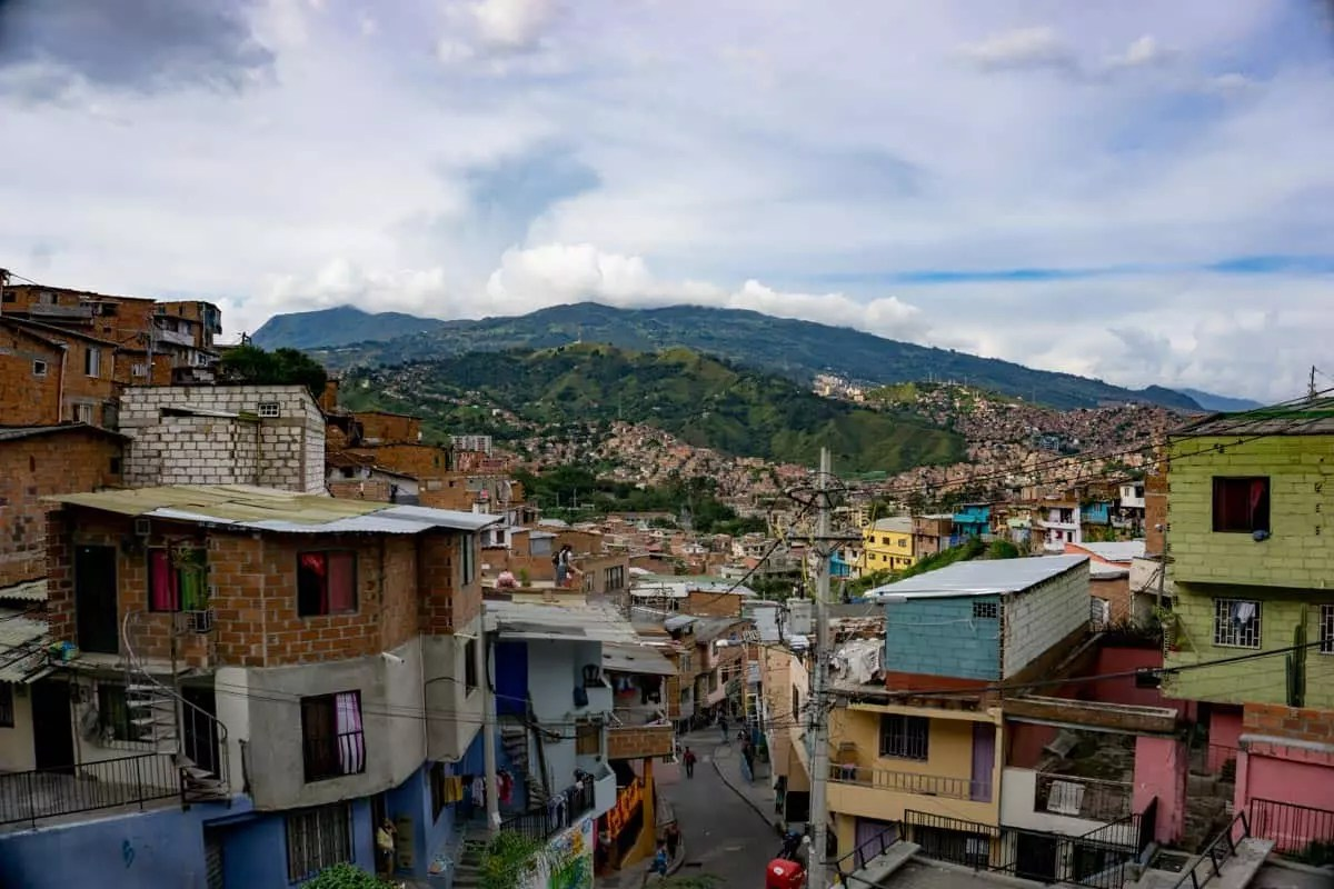 Medellin's comuna 13 ward