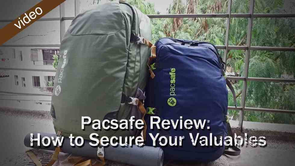 Pacsafe Review: How To Secure Your Valuables