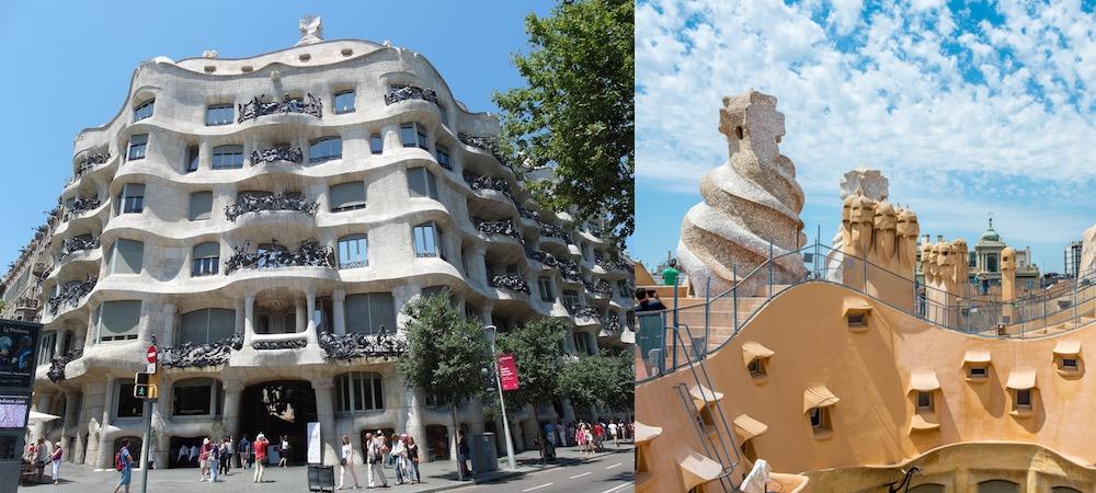 【巴塞隆納景點】 米拉之家 高第三大著名作品之一作品 - Travelliker 愛遊人