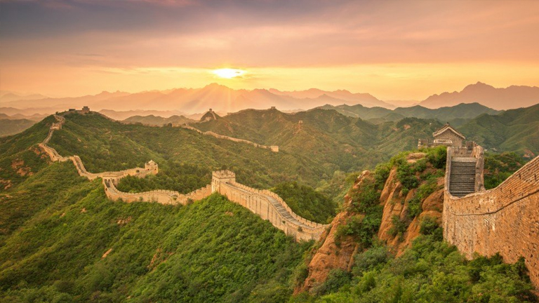 The Great Wall of China Known as the longest cemetery