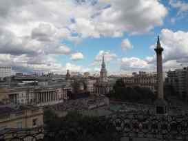View of Trafalgar Square