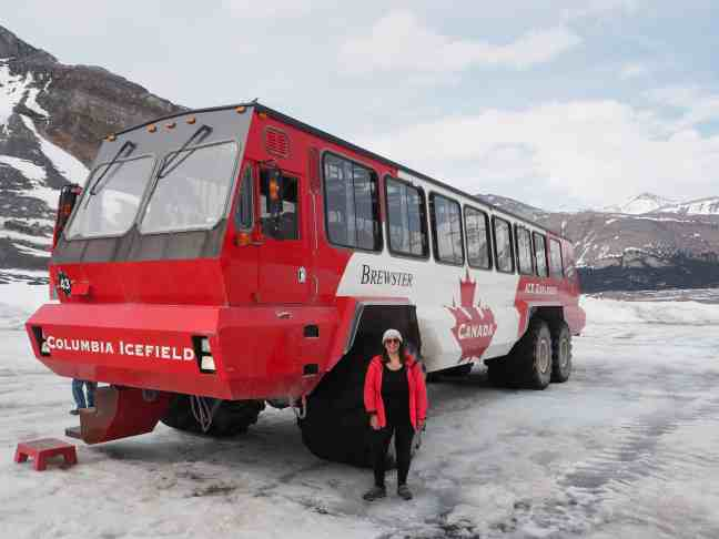 Athabasca Glacier Tour, Icefields Parkway