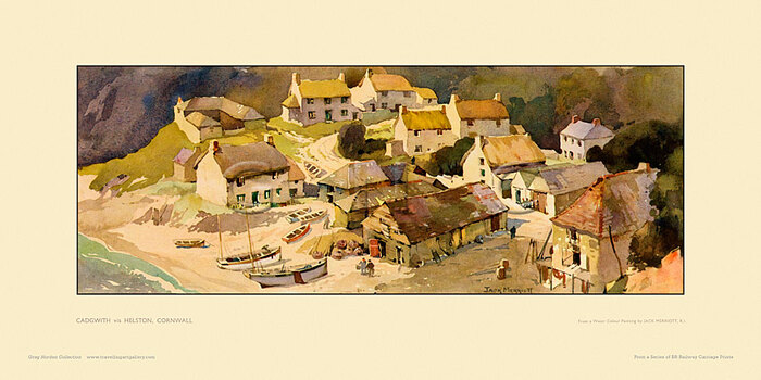 Cadgwith, via Helston by Jack Merriott