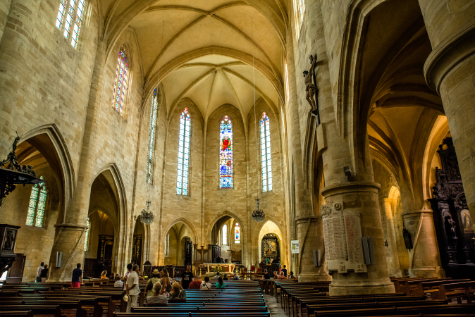 Sarlat Cathdral, South France