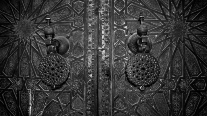 Door designs in Fes Morocco