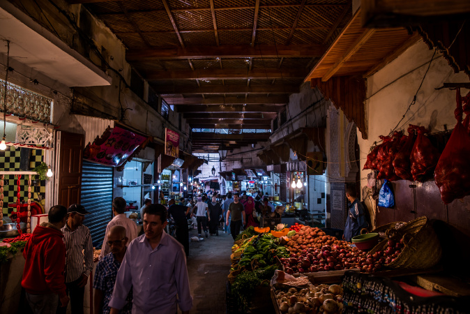 Exploring the food Souks of Fes