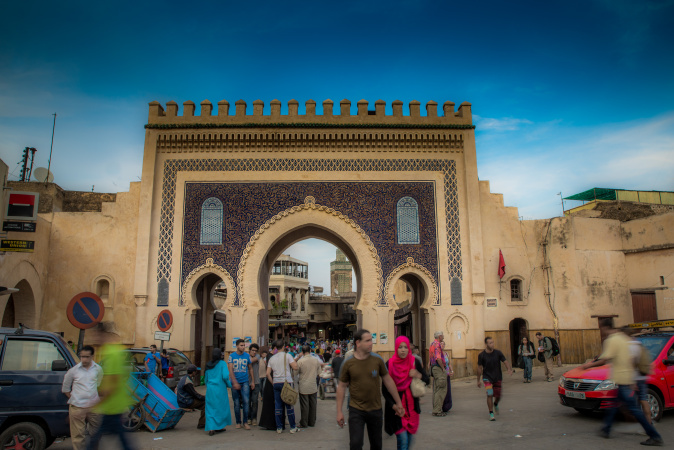 The Blue Gate, Fes, Morocco
