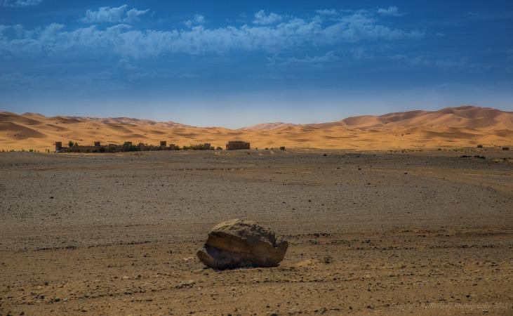 Leaving the Sahara behind