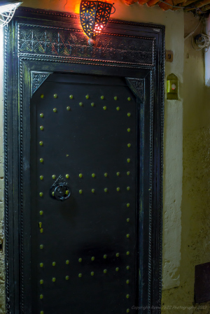 Doorway to Riad Camilia, Marrakech, Morocco