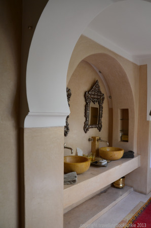 Twin Sinks, Suite 4, Riad Camilia, marrakech, Morocco