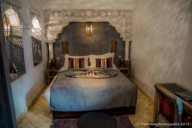 Bedroom of Casablanca Suite