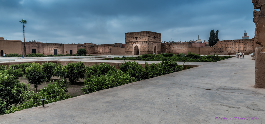 Badi Palace , Marrakech, Morocco