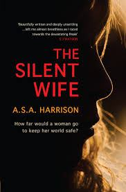 The Silent Wife book cover by A.S.A Harrison